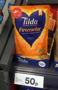 Reduced ! Tilda Firecracker Hot Basmati Rice 250g Only 50p instore @ Iceland