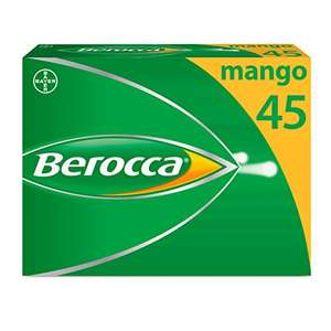 Berocca effervescent Vitamin B supplement @ Amazon - £5.61 Prime / £9.60 non-Prime