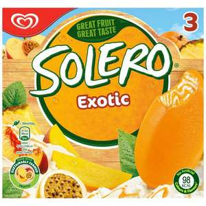 Solero Exotic Ice Cream Lolly, 2 FOR £3 @ ASDA