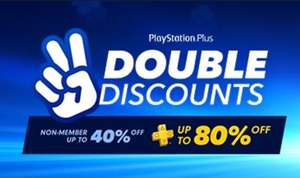 PS Plus Double Discount Sale at PlayStation PSN Store US and Canada * Over 230 titles on sale, examples Tomb Raider Definitive Edition and Titanfall 2 £4.29 each with PS+ discount using 2 day trial trick