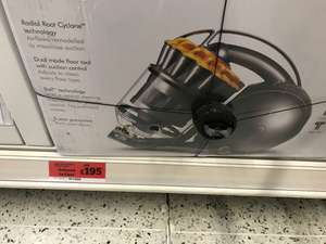 Dyson DC39 Multi Floor Reduced to Clear - £195 @ Sainsbury's instore