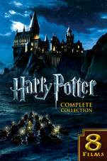 Harry Potter Complete Collection (4K - Dolby Vision) £39.99 itunes