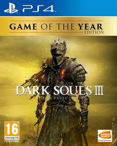 PS4/XBOX Dark Souls III: The Fire Fades (GOTY Edition) (Used Very Good) £21.27  musicmagpie