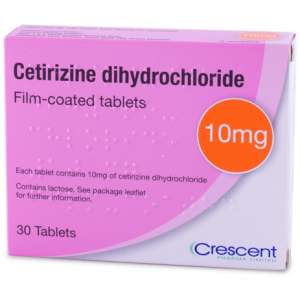 120 Antihistamine Tablets! 4 x Cetirizine 10mg Tablets (30 per pack) FREE DELIVERY £2.79 @ Pharmacy first