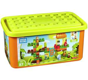 Mega Bloks Jungle Fun Tub (was £34.99)  Now £18.99 @ Argos
