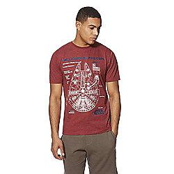 Star Wars mens Millenium Falcon t-shirt M,L,XL £5 @ Tesco