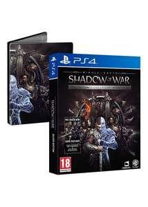 Middle-Earth Shadow of War Silver Edition - Steelbook & DLC (PS4 / Xbox One) £24.99 delivered @ Base