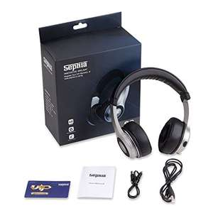 Sephia S3 wireless headphones (come with 3.5mm audio cable for non wireless) - £8.45 (Prime) / £12.44 (non Prime) Sold by Sephia and Fulfilled by Amazon. lightning deal