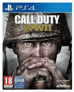 Call of Duty WWII - PS4 - £21.09 Pre-owned @ Music magpie