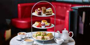 Afternoon Tea for Two with Gin & Tonic at Cafe Rouge £19 (£9.50pp) - 2 course lunch & coffee for Two £25 (£12.50pp) @ Travelzoo