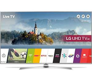 LG 43UJ701V  43 Inch Ultra HD HDR Smart TV with Freeview Play Deal of the Day £389 Dispatched from and sold by Tvsandmore - Amazon