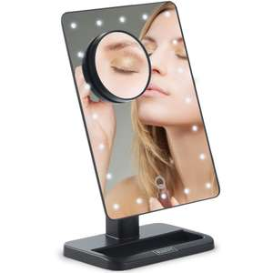 Beautify Magnifying LED Mirror - Now £10.99 delivered  @ DOMU