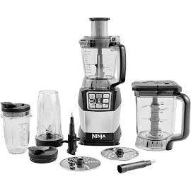 Ninja Compact Food Processor with Auto-iQ and Nutri Ninja 1200W – BL490UK2 £107.98 @ Costco warehouse