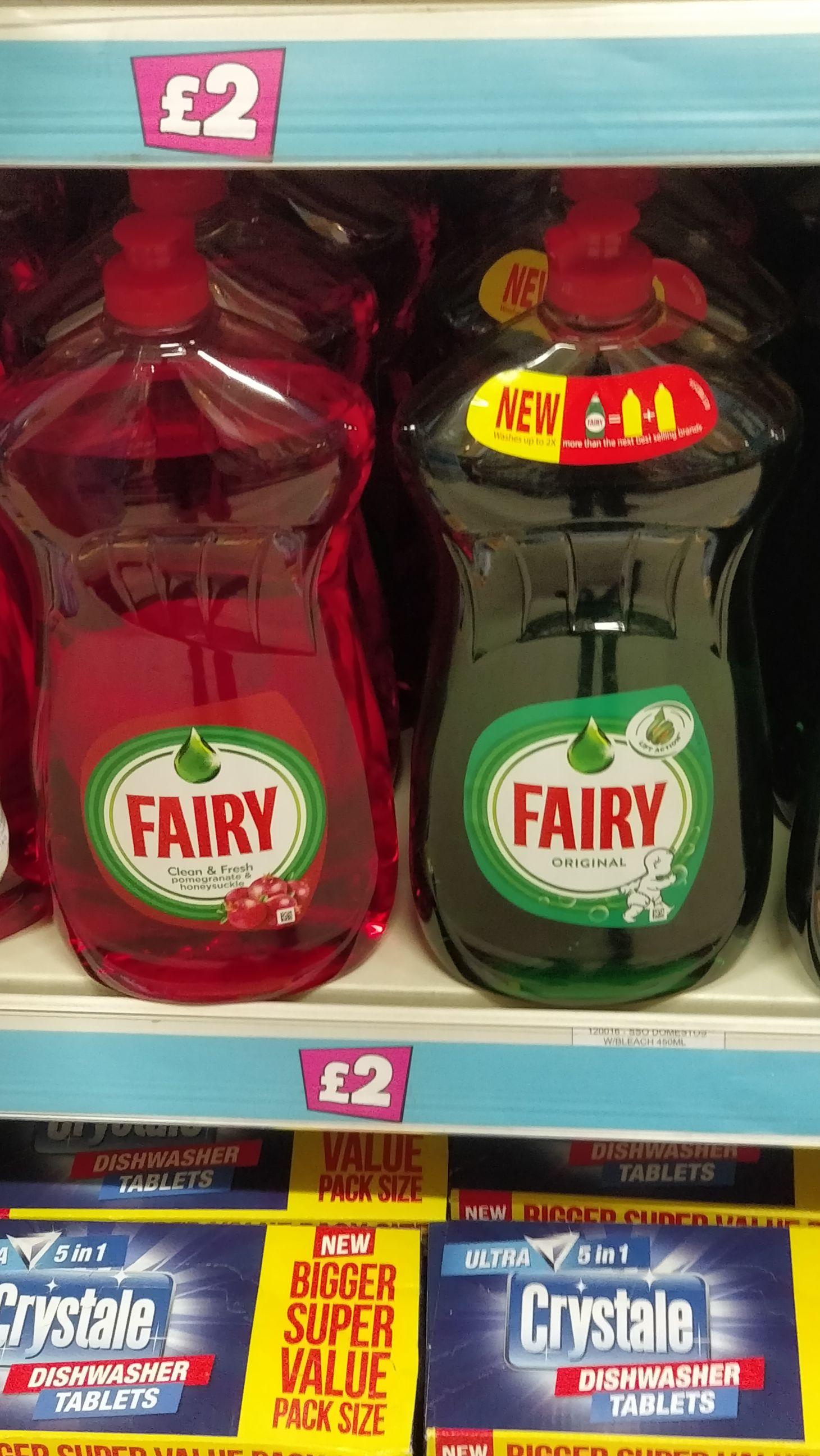 Fairy 1150ml £2 Poundland