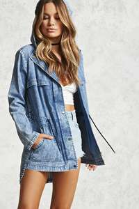 Contemporary Chambray Jacket in Medium or Light Denim (was £27) Now £13.99 + Free C&C to store / £3.95 Home Delivery @ Forever 21 (more in OP)