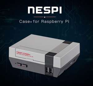 Retroflag NESPI Case+ for Raspberry Pi 3 / 2 and B+ with Screws / Screwdriver £9.69 w/code @ Rosegal