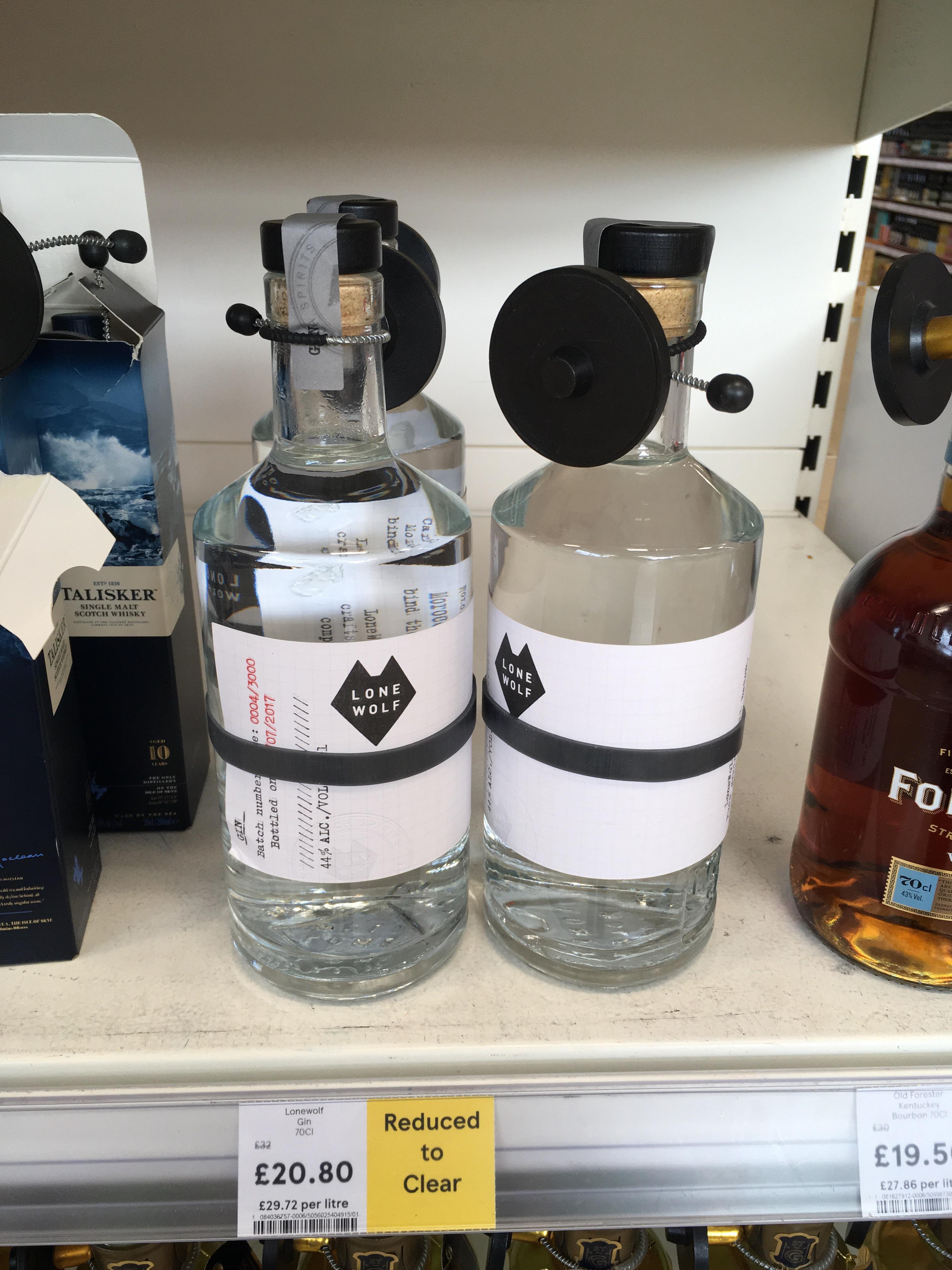 Lone Wolf Gin £20.80 @ Tesco Bellshill