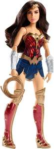 DC Comics FDF35 Battle-Ready Wonder Woman 12-Inch Doll (Also Diana Prince Hidden Sword Doll), £7.25 (Prime) £11.24 (Non-Prime) @ Amazon - Temporarily Out Of Stock