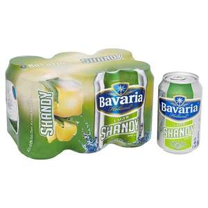 Absolute Bargain Bavaria Lager Shandy 6X330ml Cans £2 - 33p per can @ Tesco