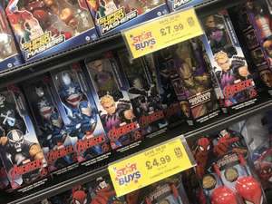 Avengers dolls - £4.99 instore @ Home Bargains