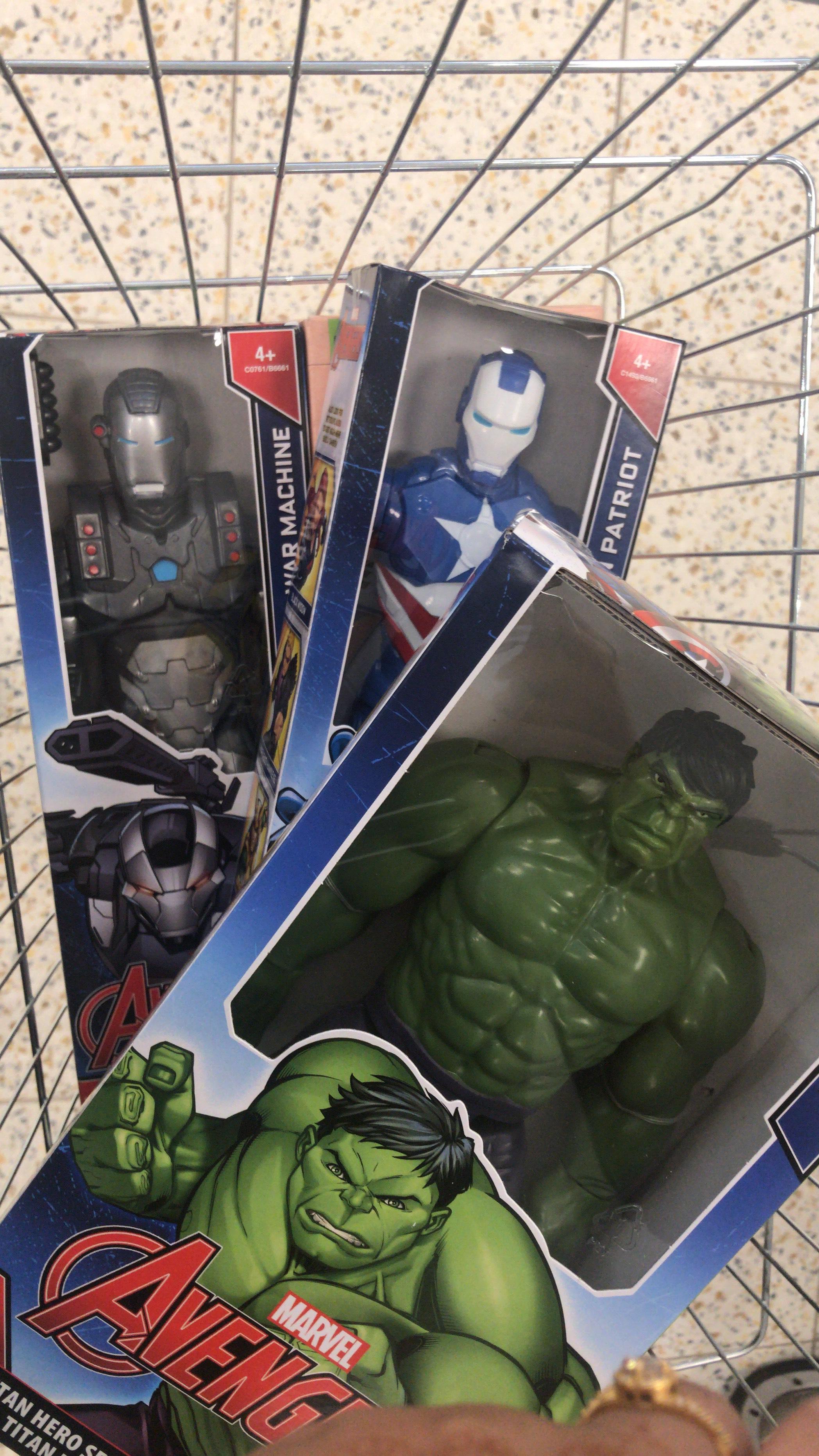 Large hulk - £7.99 home bargains