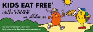 Kids Eat Free with a paying adult at London Heathrow during School Holidays