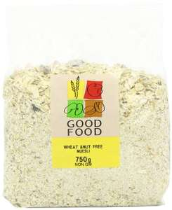 Mintons Good Food Pre-Packed Wheat and Nut Free Muesli 750 g (Pack of 5) - £6.23 (Prime) / £10.98 (Non Prime) @ Amazon
