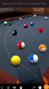 Pool Break 3D billiards (iOS) free for a limited time