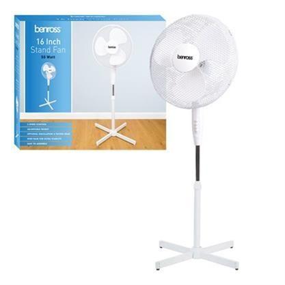 Benross 16 inch fan - £14.99 Delivered @ Latifs