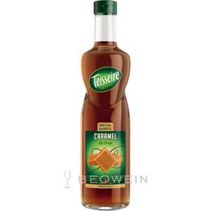 Teisseire sugar free caramel syrup £1.49 in Fulton foods