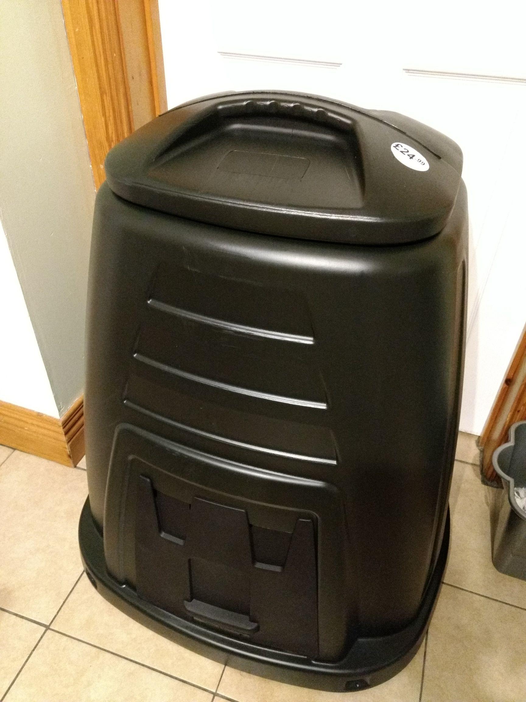 Large 220litre composter. £24.99. Poundstretcher.