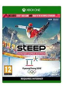Steep road to the Olympics Xbox one and ps4 @ Amazon - £16.99 Prime / £18.98 non-Prime