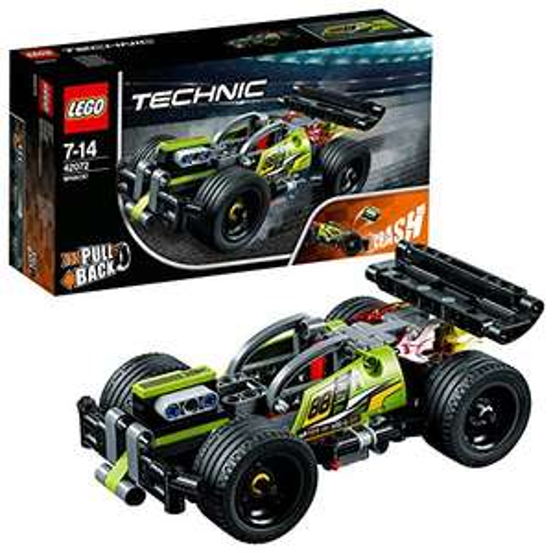 LEGO 42072 Technic WHACK £12.59 (Prime) / £16.58 (non Prime) @ Amazon - lightning deal