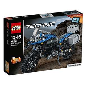 LEGO 42063 Technic BMW R 1200 GS Adventure Building Toy - £36.29 @ Amazon - lightning deal