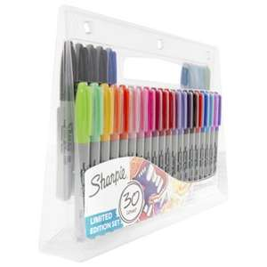 Sharpie Fine Permanent Marker Pens Limited Edition 30pk only £6 @ Tesco Direct (Free C&C)