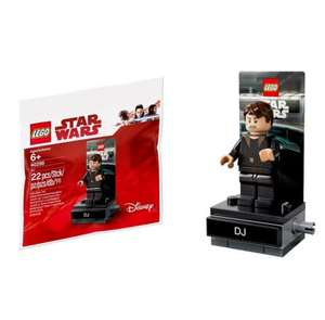 Lego Star Wars The Last Jedi 40298 DJ Minifigure - Free with Starwars Purchase or £4.00 separately at Tesco instore