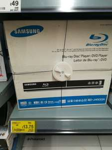 Samsung bd-j4500r blu ray player £13.75 instore at Asda Poole