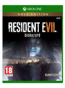 [Xbox One] Resident Evil 7 Gold Edition - £21.49 - Base