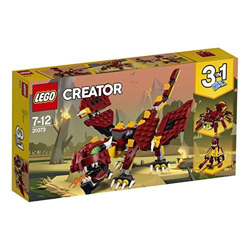 LEGO 31073 Creator Mythical Creatures £9.09  (Prime) / £13.08 (non Prime) at Amazon