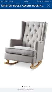 Kirkton House Accent Rocking Chair £149.99 at Aldi