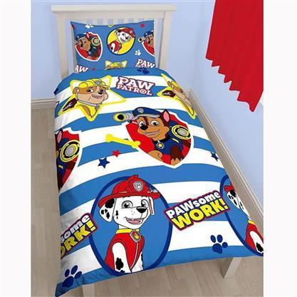 Paw Patrol Kids Duvet Set £4.99 + £5.99 shipping at latifs