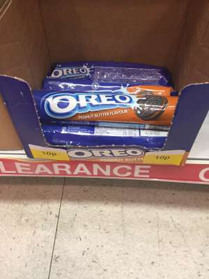 Peanut butter Oreos 10p at poundstretcher