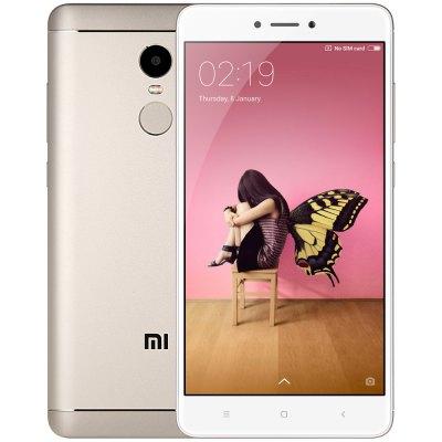 "Xiaomi Redmi Note 4 Qualcomm 3GB 32GB Global Version Snapdragon 625 Mobile Phone 5.5"" FHD 13MP Fingerprint ID MIUI 9 £99.77 for gold colour @ fantacy store / aliexpress"