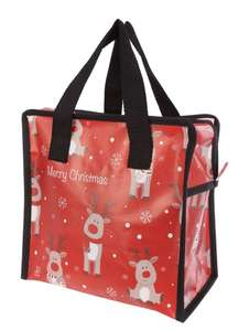 Reindeer Lunch Bag 75p @ Peacocks - Free C+C