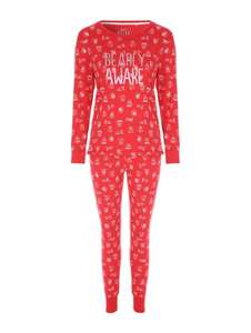 Womans long sleeved bear pyjamas - £7.00 (was £15.00) @ Peacocks - Free C+C
