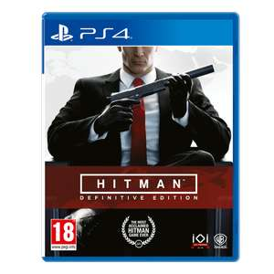 Hitman Definitive Edition PS4 Pre-order @ 365games - £36.99