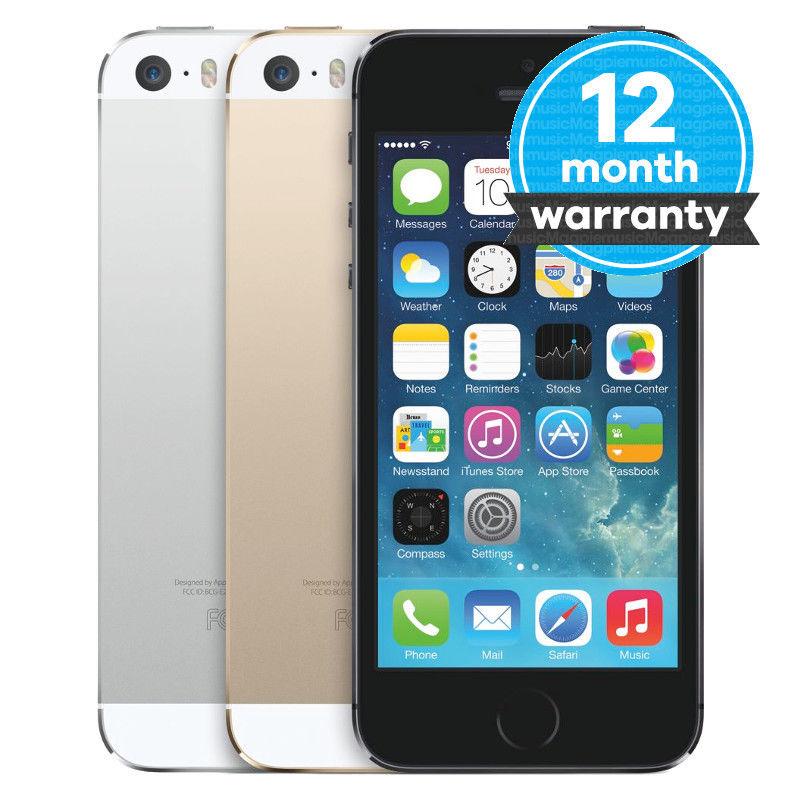 Apple iPhone 5s - 16GB Vodafone refurb £69.99 &Unlocked 84.99 @ Ebay MUSICMAGPIE