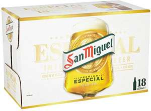 San Miguel 18x330ml £10 @ Morrisons