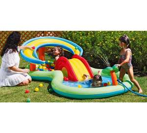 Update Chad Valley Activity Pool Play Centre - 8.5ft - 109 Litres now £19.99 @ Argos - Jungle Activity Pool - 9ft - 346 Litres Also £22.49