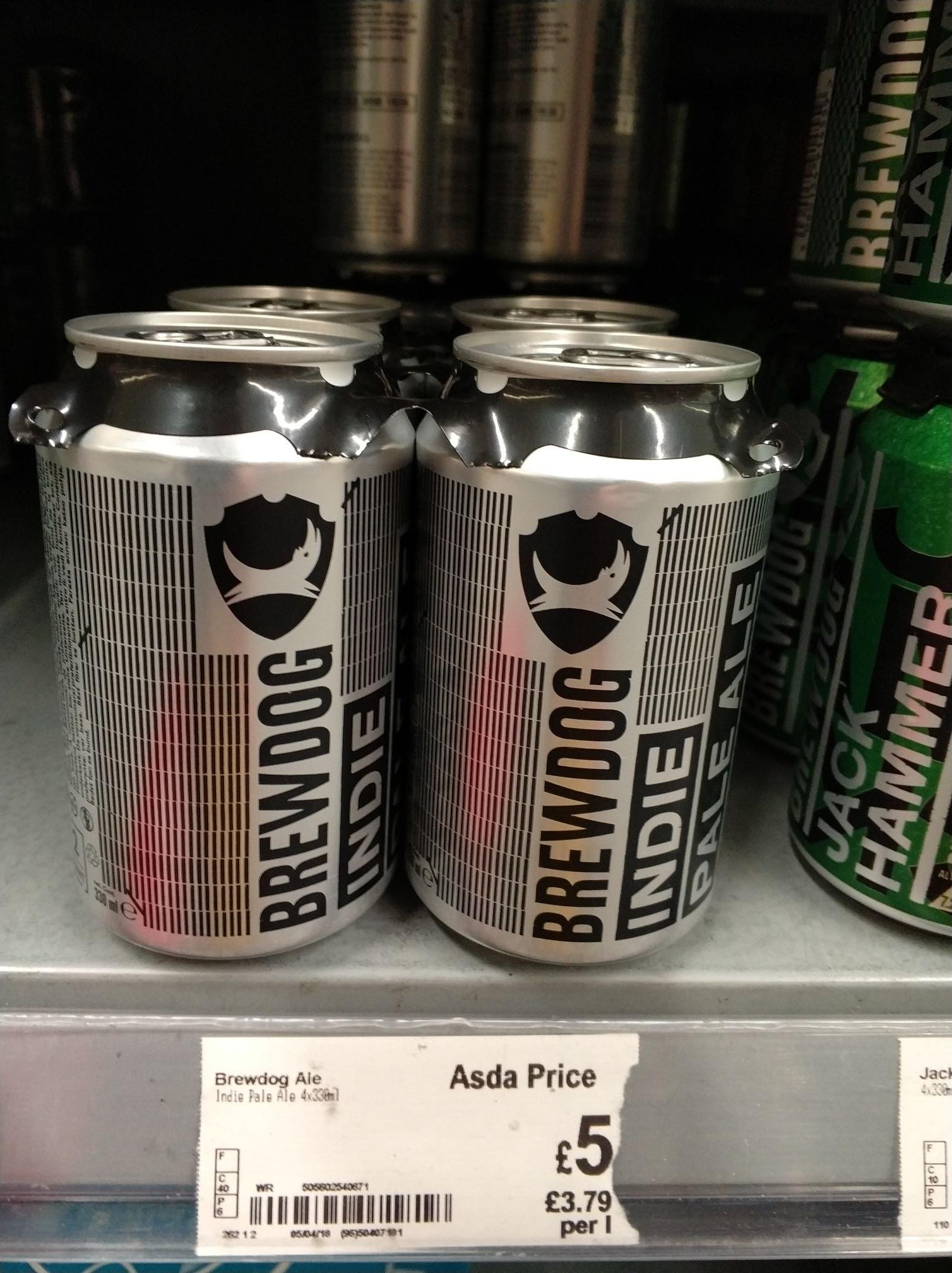 Brewdog Indie Pale Ale - £5 - Asda in store